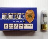 600 law enforcement ball 12ga